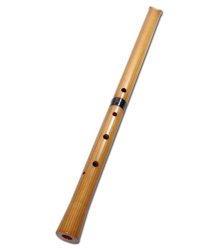 尺八(合竹) 直管 節無し 2尺3寸 正律管 (2103)