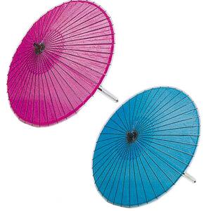 稽古用絹傘 尺6寸 2本継ぎ 市印