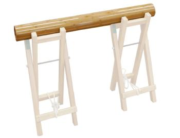 竹太鼓 100cm 竹集成材 ECO 台・バチは別売りです。