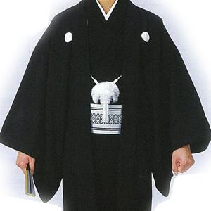 石持羽織(こくもちはおり) ポリエステル100%