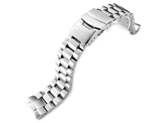 20mm メタル時計バンド ステンレススチール エンドミル ブレスレット for SEIKO SUMO SBDC031, SBDC033, SBDC049 PADI, SBDC069, SZSC004他