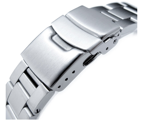 22mm メタル時計バンド ステンレススチール オイスター ブレスレット for セイコー サードダイバー復刻 ニュータートル SRP777, SRP779, SRP773, SRP775, SRPA21, SBDY013, SBDY015, SBDY021, SRPC23, SRPC25