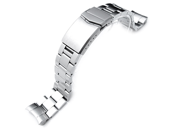 20mm メタル時計バンド ステンレススチール オイスター ブレスレット Vクラスプ for セイコー SUMO SBDC031, SBDC033, SBDC049, SBDC069, SBDC081, SBDC083, SZSC004他