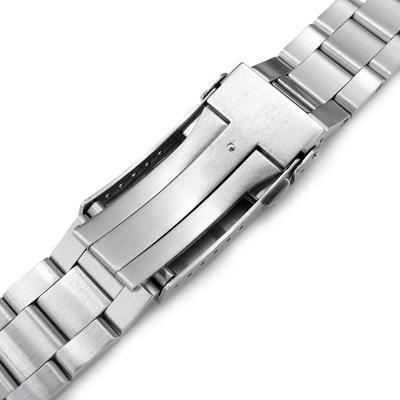 20mm メタル時計バンド ステンレススチール オイスター ブレスレット サブマリーナクラスプ for セイコー ミニタートル SRPC35K1, SRPC37K1, SRPC39K1, SRPC41K1