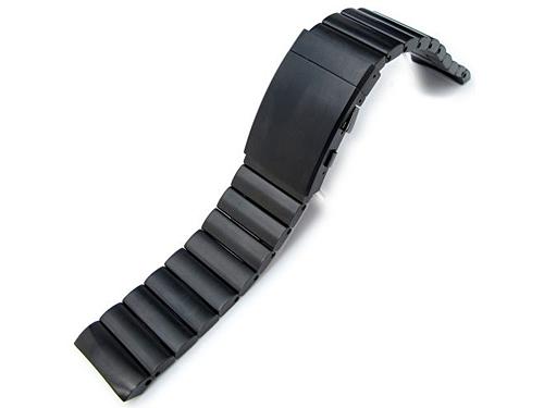 24mm 時計ベルト ステンレススチール バンダリア ブレスレットBBK for ルミノール44mm