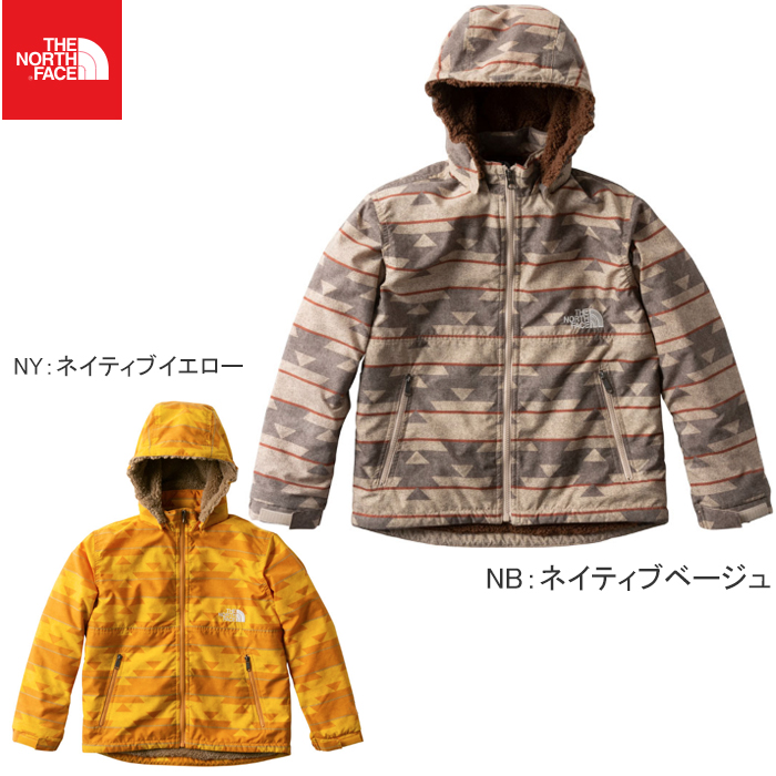 ザ・ノース・フェイス (THE NORTH FACE) ノベルティーコンパクトノマドジャケット NPJ71857 キッズ用 男の子 女の子用モデル