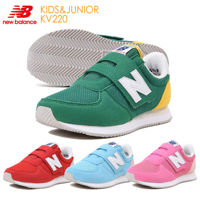 a64abf87 Model NB popularity 18FW for the child of the boy woman for New Balance  (newbalance) kids sneakers KV220 child shoes kids