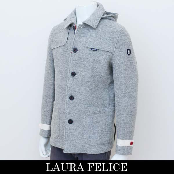LauraFelice(ラウラ・フェリーチェ)ジャケットライトグレー125 6004 N4