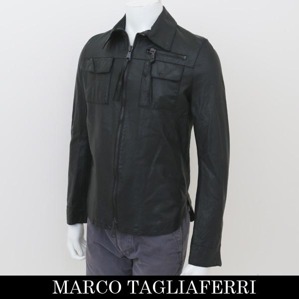 MARCO TAGLIAFERRI(マルコ タリアフェリ)レザージャンバーブラック447 80210001(MTUA 800 NTL) XSサイズのみ