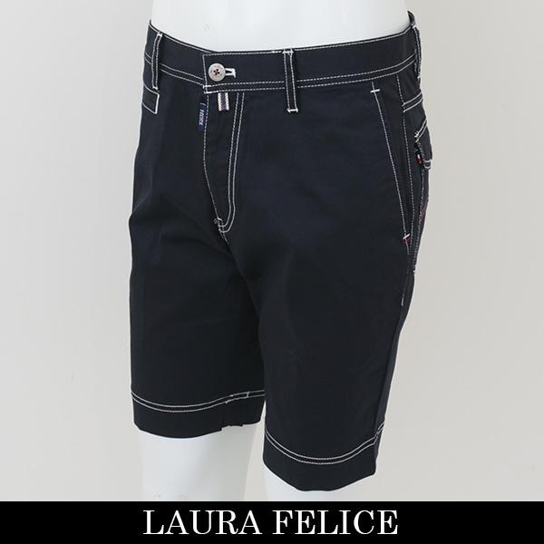 LauraFelice(ラウラ・フェリーチェ)ショートパンツネイビー124 2052