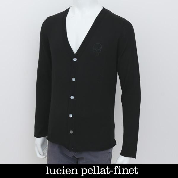 Lucien Pellat-finet(ルシアンペラフィネ)カーディガンブラックAT2011H(233 75614)