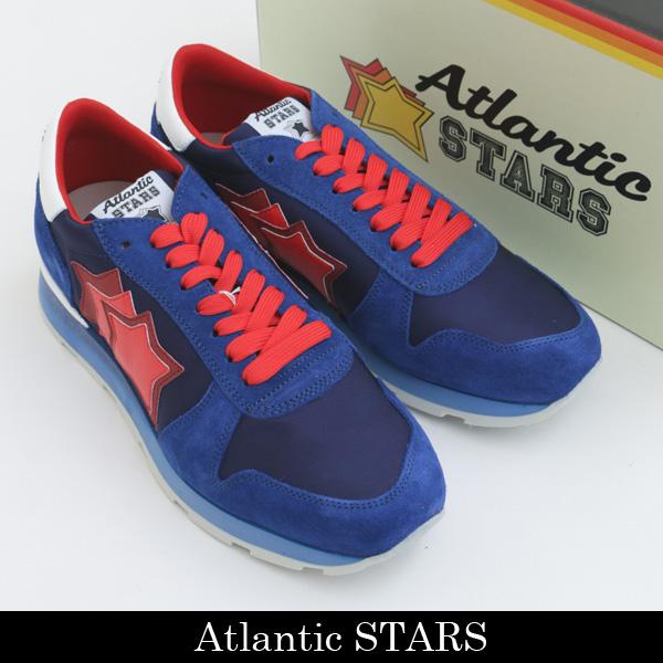 Atlantic STARS(アトランティックスターズ)スニーカーブルー×レッドSIRIUS MN 83B