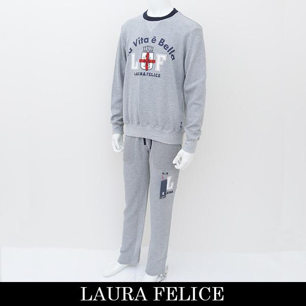 LauraFelice(ラウラ・フェリーチェ)セットアップ (グレー)130 6003 14/130 6052 14
