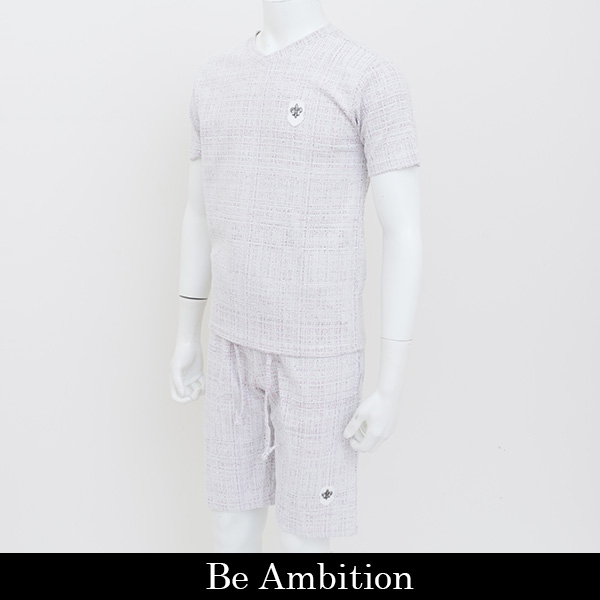 Be Ambition(ビーアンビション)セットアップ (ピンク系)L27103