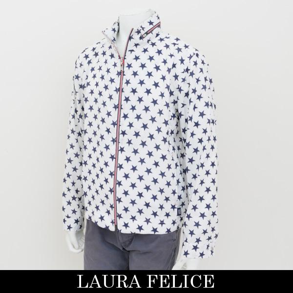 LauraFelice(ラウラフェリーチェ)ジャンバーホワイト系(星柄)130 1011 12