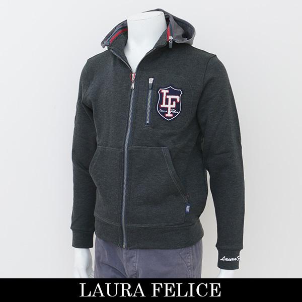 LauraFelice(ラウラフェリーチェ)パーカーグレー129 6005 15