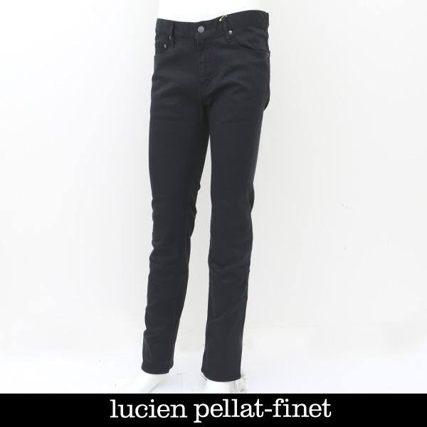 lucien pellat-finet(ルシアンペラフィネ)デニムパンツブラックYMP465H(213 41503)