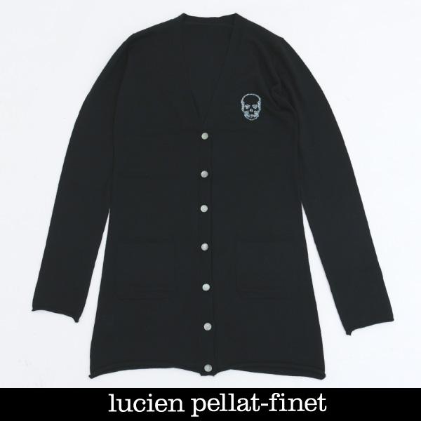 Lucien Pellat-finet(ルシアンペラフィネ)レディースカーディガンブラックRAP107F(323 45801)