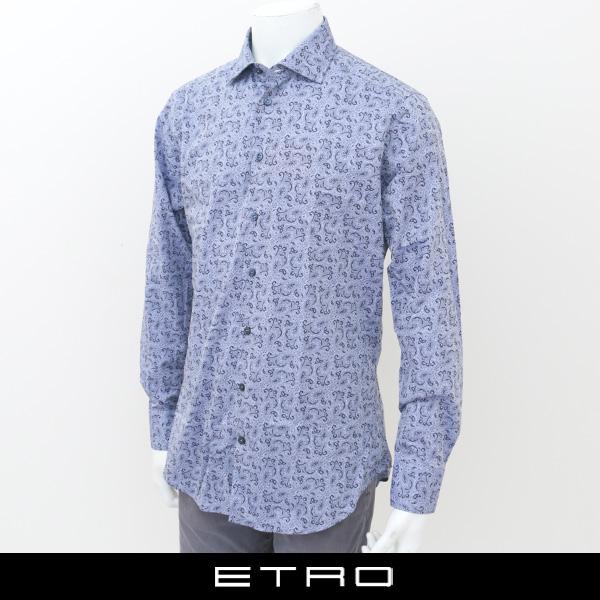 ETRO(エトロ)ペイズリー柄カジュアルシャツ11451 3550 200