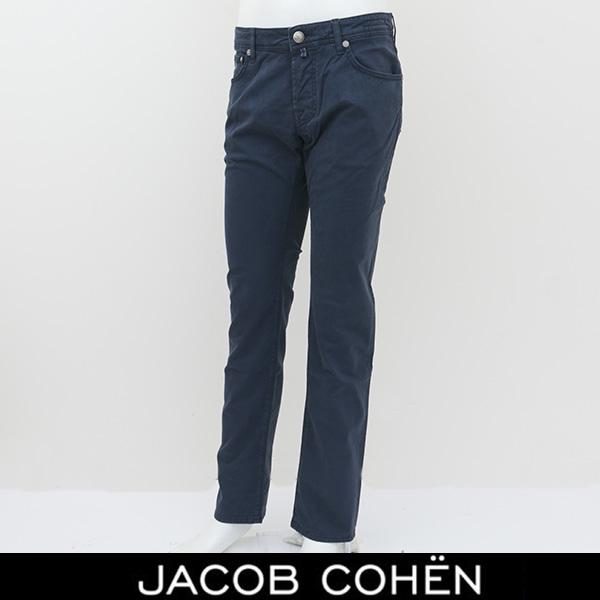 JACOB COHEN(ヤコブコーエン)ストレッチコットンパンツネイビーPW622 COMF 08284S 22211