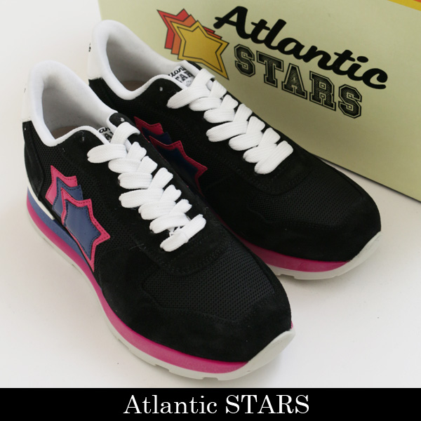 Atlantic STARS(アトランティックスターズ)レディーススニーカーブラックVEGA NNF 62B