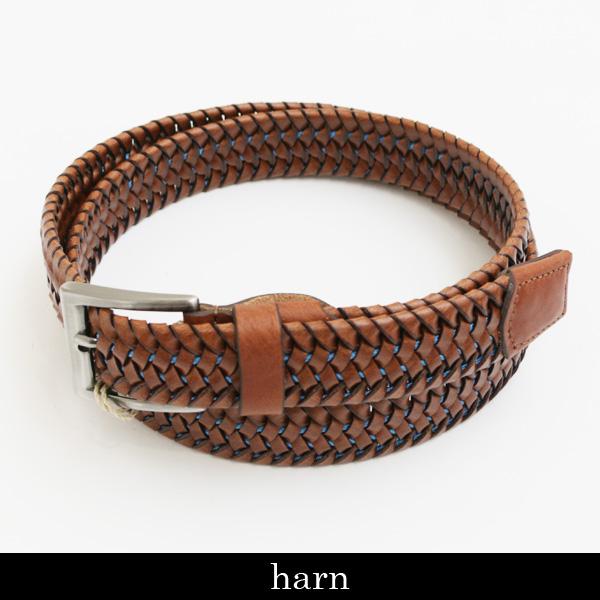 HARN(ハーン)レザーベルトブラウン171989