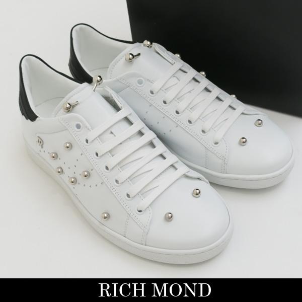John Richmond(ジョン・リッチモンド)スニーカーホワイト3114F