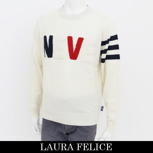 LauraFelice(ラウラ・フェリーチェ)セーターホワイト131 7003 12