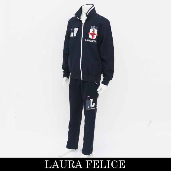 LauraFelice(ラウラ・フェリーチェ)セットアップ (ネイビー)130 6002 26/130 6052 26