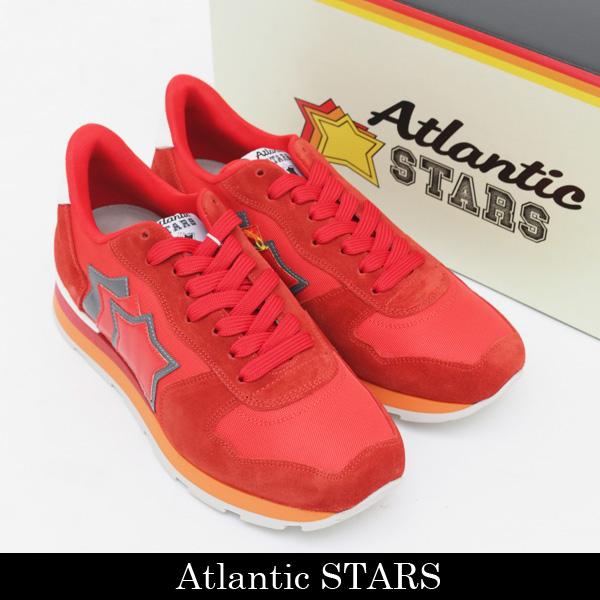 Atlantic STARS(アトランティックスターズ)スニーカーレッドANTARES RF 85B RED