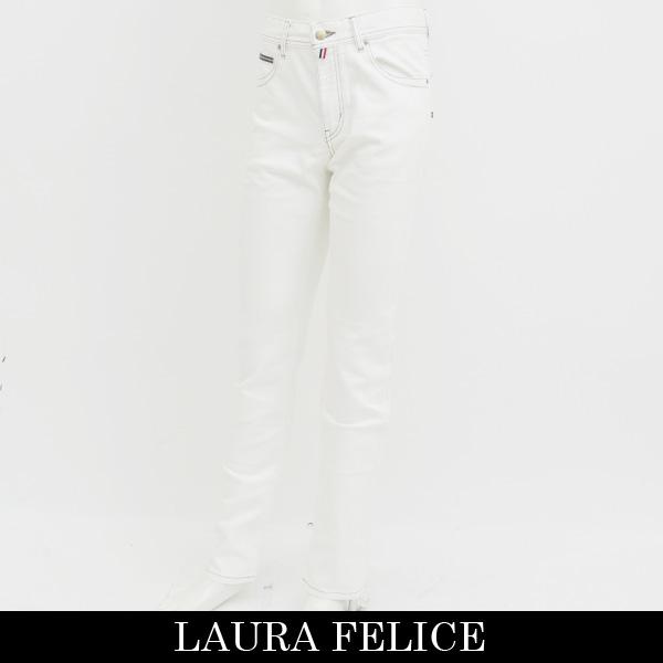 LauraFelice(ラウラフェリーチェ)ストレッチデニムホワイト132 2006 12