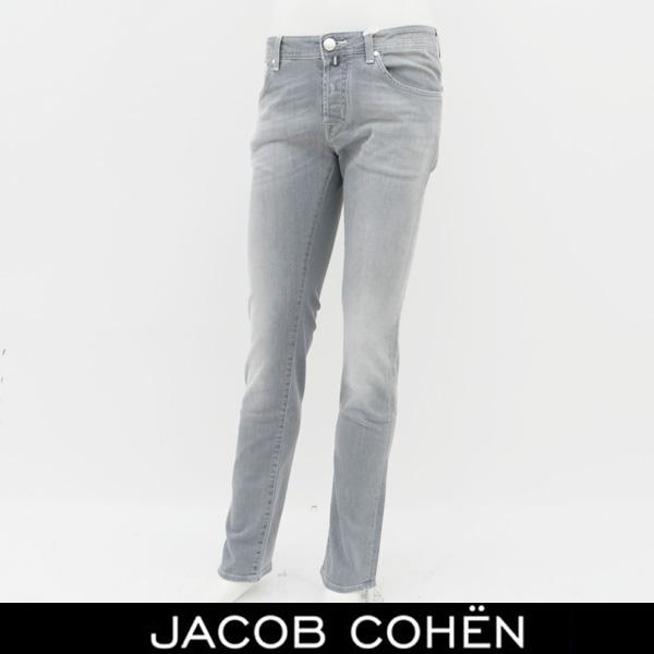 JACOB COHEN(ヤコブコーエン)ストレッチデニムグレーPW622 COMF 07729W2 52142
