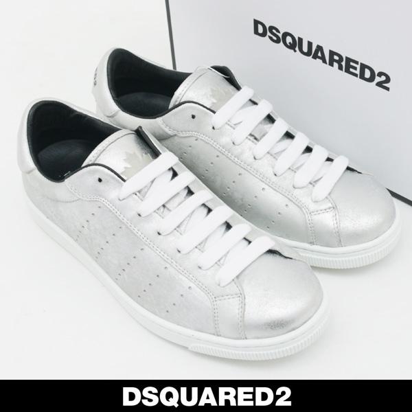 DSQUARED²(ディースクエアード)メンズ スニーカーシルバーSNM0403 87500001 2137