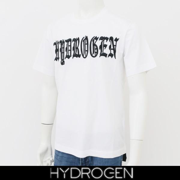 HYDROGEN(ハイドロゲン)半袖Tシャツホワイト220624