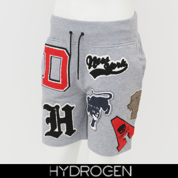 HYDROGEN(ハイドロゲン)スウェットショートパンツグレー220652