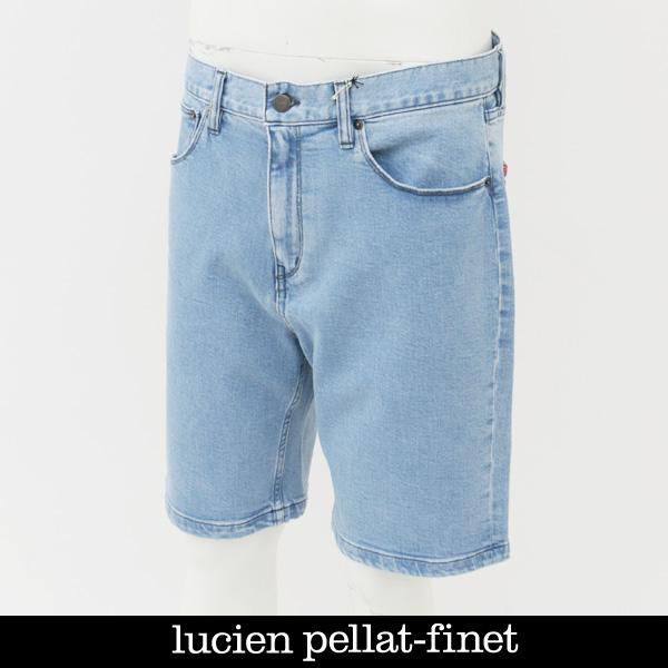 lucien pellat-finet(ルシアンペラフィネ)ショートデニムパンツショートパンツDE 112H 52510