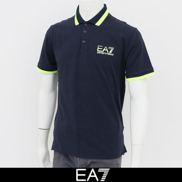 EMPORIO ARMANI(エンポリオ アルマーニ)半袖ポロシャツネイビー3ZPFC3 PJ03Z