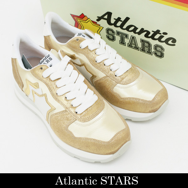 Atlantic STARS(アトランティックスターズ)レディース スニーカーゴールドVEGA COO 86B