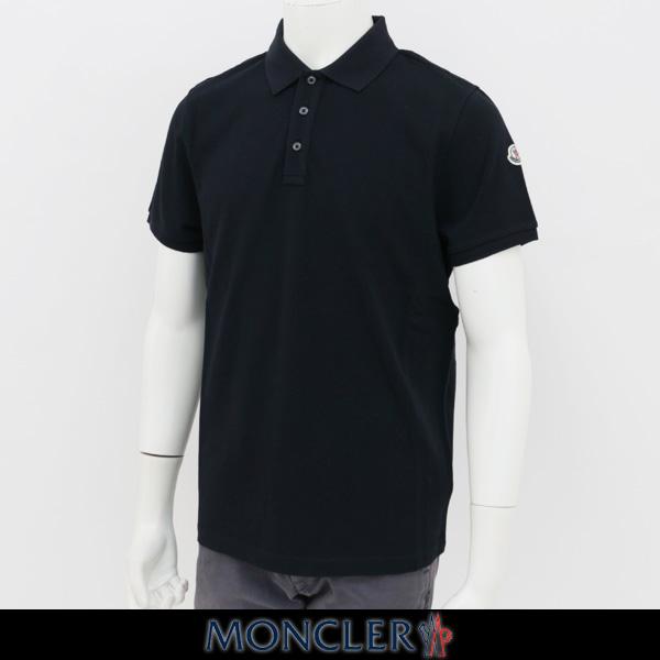 MONCLER(モンクレール)【メンズウェア】半袖ポロシャツ【ネイビー】E1 091 8305150 84556