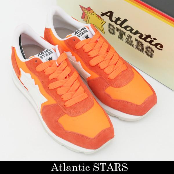 Atlantic STARS(アトランティックスターズ)スニーカーオレンジANTARES SRF 86B ARANCIO FLUO H.V.