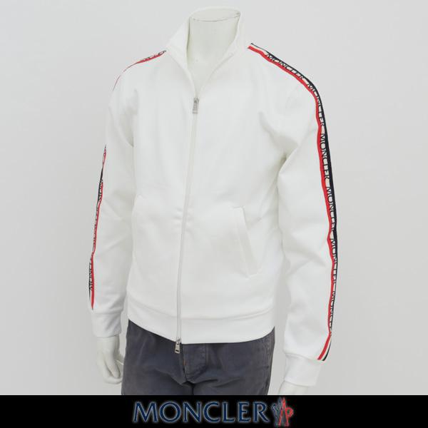 MONCLER(モンクレール)【メンズウェア】ダブルジップアップトラックジャケット【ホワイト】D1 091 8420100 8299R
