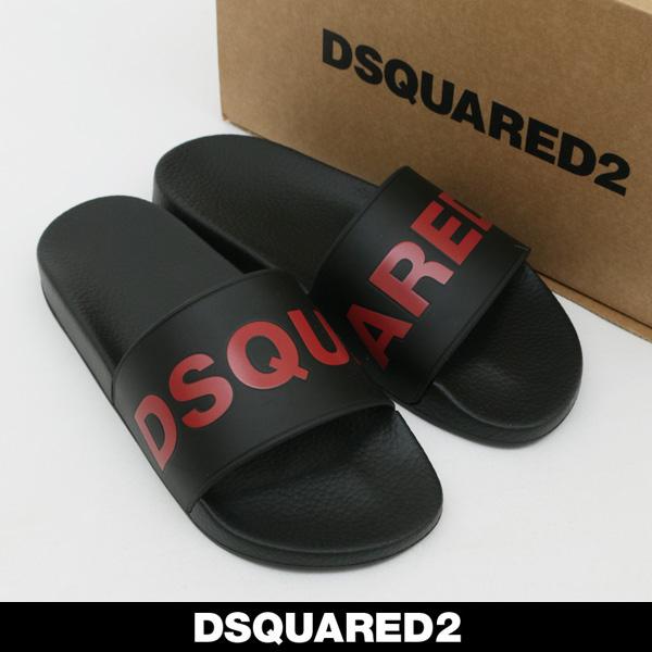 DSQUARED2(ディースクエアード)サンダルブラックFFM0101 17200001 M556