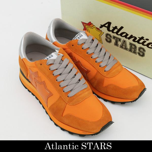 Atlantic STARS(アトランティックスターズ)スニーカーオレンジARGO AA NY NAAN ARANCIO R6531