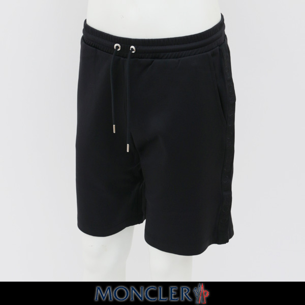 MONCLER(モンクレール)ショートパンツハーフパンツブラックD1 091 8703300 8299R