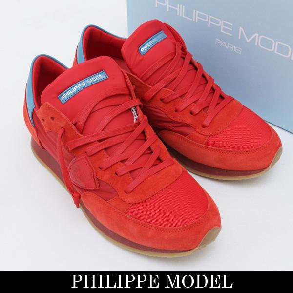 PHILIPPE MODEL(フィリップモデル)スニーカーレッドTRLU SR12