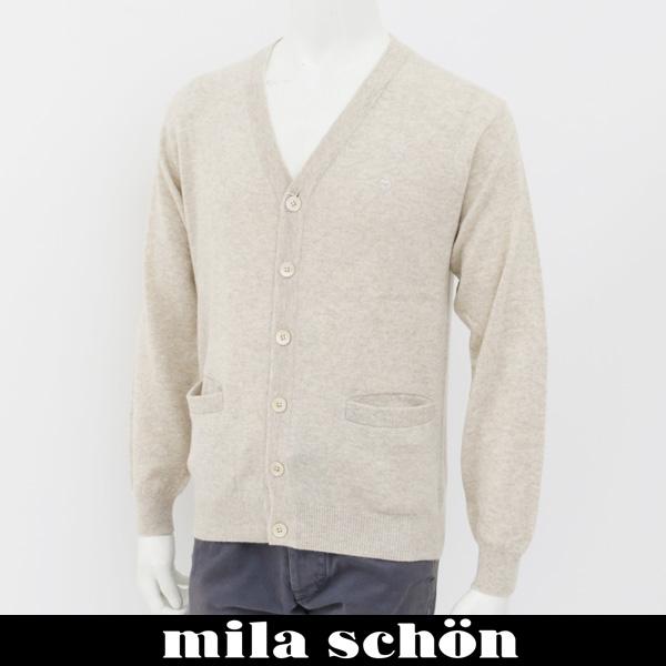 mila schon(ミラ・ショーン)カーディガンベージュ系31181 114 09