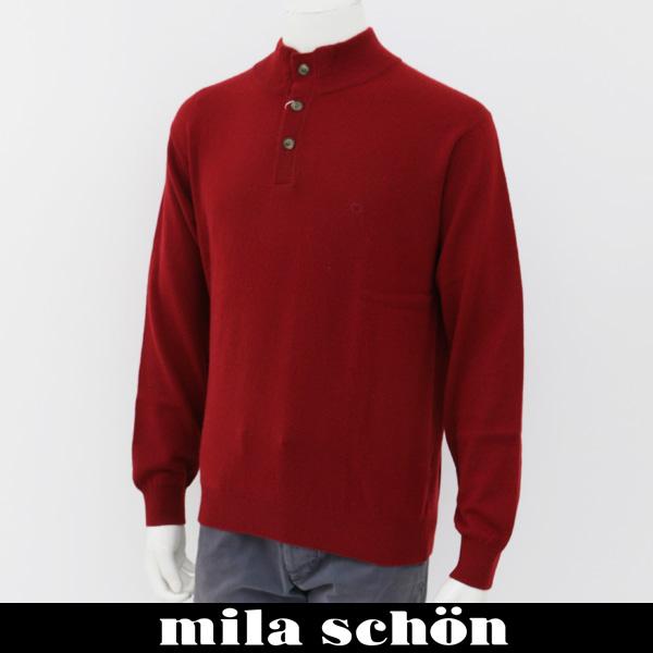 mila schon(ミラ・ショーン)ハイネックセーターエンジ31380 121 80