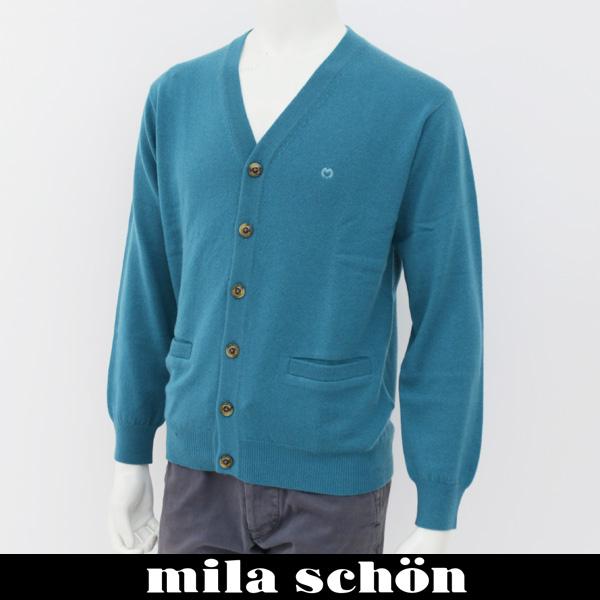 mila schon(ミラ・ショーン)カーディガンブルー系31781 125 41