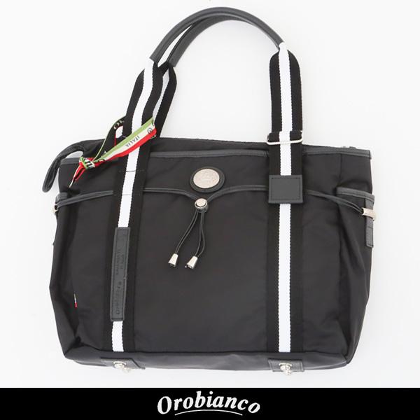 OROBIANCO(オロビアンコ)トートバッグブラックARINNA M-C