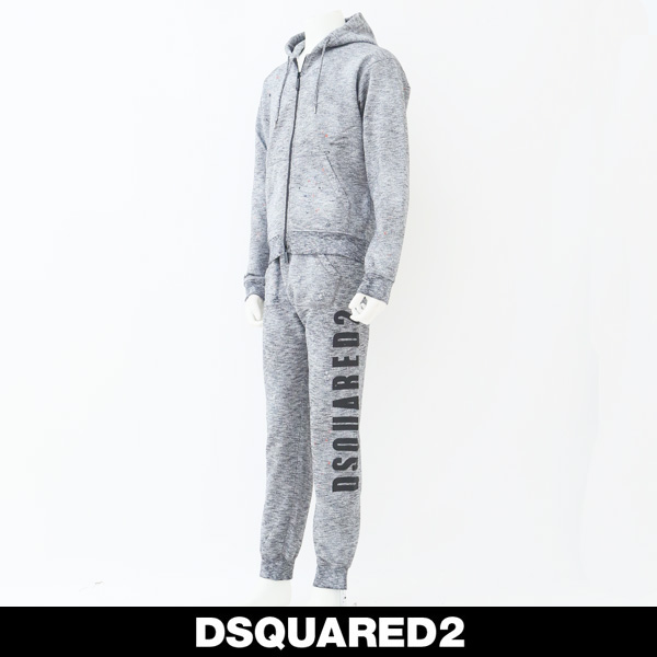 DSQUARED2(ディースクエアード)セットアップグレー系S74HG0060/S74KB0188